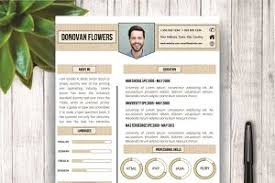 Unique Resumes Templates Resume Template Amanda Resume Templates Creative Market