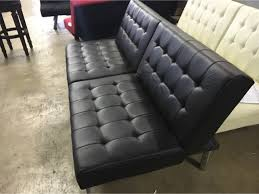 mainstays faux leather futon roselawnlutheran