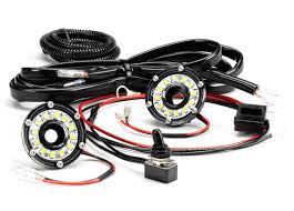 KC HiLites Dual Cyclone LED Universal Under Hood Lighting Kit