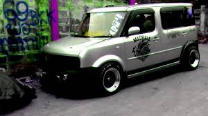 stanced nissan cube cube garage 69 by tong youtube
