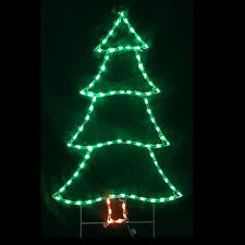 Outdoor Lighted Trees Lighted Outdoor Decorations Lighted Trees Christmastopia