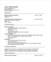 Electrician Resume Template Free Unforgettable Apprentice Electrician Resume Examples To