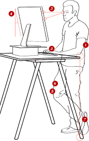 Desk Height Calculator by Best Standing Desk Standing Desk Buying Guide