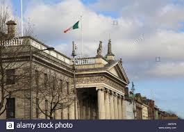 Flag Of Dublin Ireland Irish Flag Building Stock Photos U0026 Irish Flag Building Stock