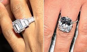 Kim Kardashian Wedding Ring by Ciara Rivals Kim Kardashian With 15 Carat Engagement Ring