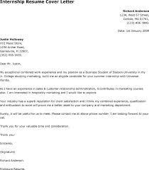 applying for internship cover letter sample oshibori info