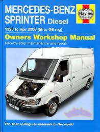 sprinter shop manual service repair book haynes mercedes dodge