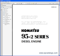komatsu css service engines repair manual engines