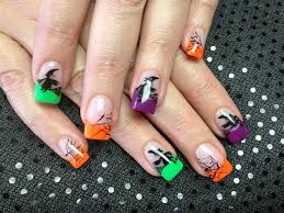 61 best halloween nails images on pinterest halloween nail
