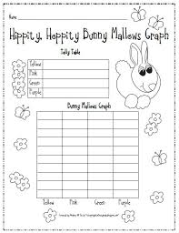 stepping into first grade bunny mallow graph