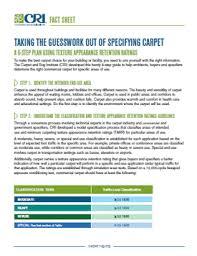 Carpet Rug Org Flooring News Cri Develops Retention Rating System Floorbiz Com