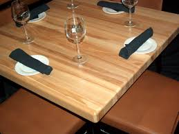 5 popular options for restaurant tables