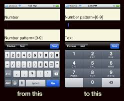 html input pattern safari better numerical inputs for mobile forms brad frost