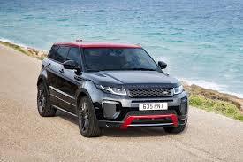 black and gold range rover range rover evoque ember celebrates half million sales milestone