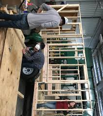 Build Small House Spartans Dream Big Build Small At Msu U0027s First Tiny House Wkar