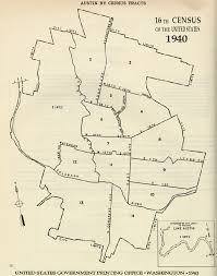 Austin Texas On Map by 1940 Census Tracts Indiana University Libraries