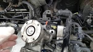 kia sportage egr valve removal and refitting youtube