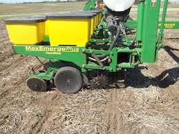 2 Row Corn Planter by Corn Rows Minnesota Farmer