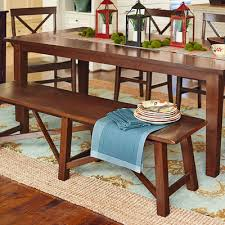 Pier 1 Kitchen Table by Torrance Mahogany Brown Dining Bench Pier 1 Imports
