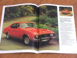 1979 ford cars xc range sundowner ltd original australian 64 page