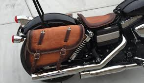 motorcycle saddlebags ends cuoio