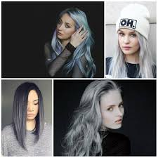 silver hair color for 2017 new hair color ideas u0026 trends for 2017