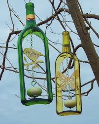 turn old glass bottles into stunning home decor accessories