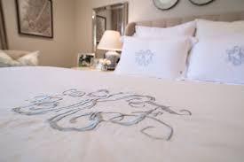 Monogrammed Comforter Sets Giveaway Frette Illusione Bedding Set House Of Harper