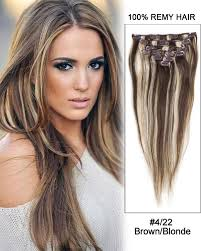 remy hair extensions 30 4 22 brown 100 remy hair clip in hair