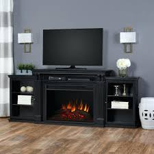novara black electric fireplace media console brighton in coffee