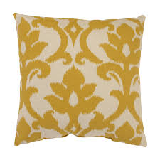 Home Decor Sofa Pillows Yellow Color Pillows