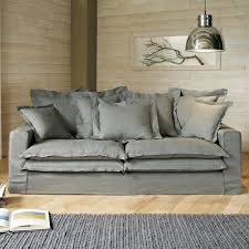 Grey Linen Sofa by Sofas Center Camden Greyn Sofa Tov Furniture Modern Manhattan