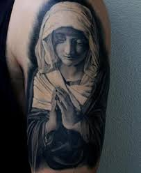 praying hands religious nun tattoo by matt jordan tattoo