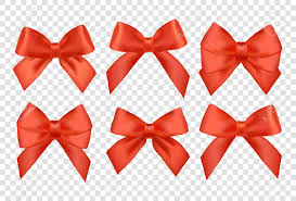 ribbons set for christmas gifts red gift vector bows with ribbons