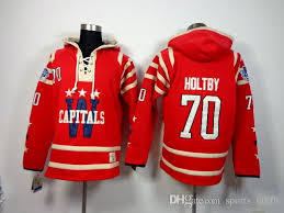 capitals hockey sweater 70 braden holtby hoodies 2015 winter
