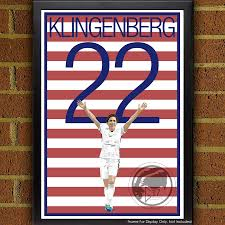 Home Decor World by Meghan Klingenberg 22 Poster Uswnt Usa Soccer Poster World Cup