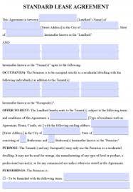 free printable rental lease agreement templates pdf u0026 word
