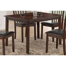 cappuccino finish dining room u0026 kitchen tables shop the best