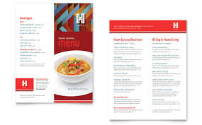 make a restaurant menu create menus print templates