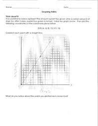 sixth grade lesson graphing ratios betterlesson