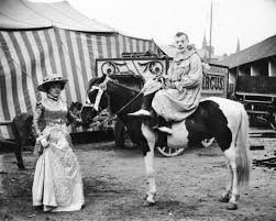 23 extraordinary photos of circus performers in strabane 1910 11