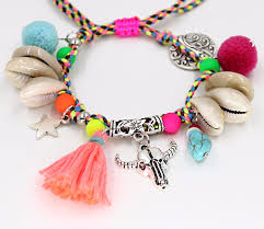 beaded name bracelets wholesale woman s bracelets bohemian jewelry summer colorful