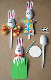 Easter Decorations Preschool by Easter Bunny Crafts Activities And Treat Ideas Plastic Spoons