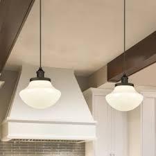 Schoolhouse Pendant Lights Schoolhouse Pendants You Ll Wayfair