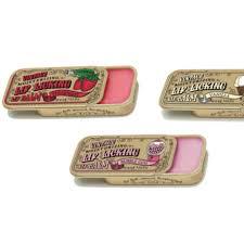 lip licking lip balm vintage tin lip balm from the 1980s