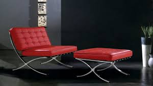 Ottoman Red by Red Leather Chair And Ottoman Tweetalk