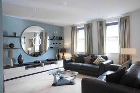 Living Rooms With Dark Brown Sofas Prepossessing 40 Living Room Design Ideas Brown Leather Sofa