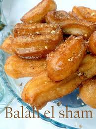 cuisine orientale pour ramadan balah el sham dessert gateau au miel
