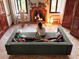 canapé grande profondeur canapé italien design avec grande profondeur de l assise meubles