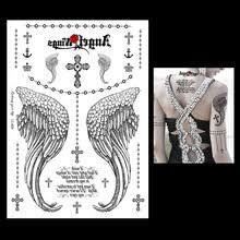 wing cross tattoos reviews online shopping wing cross tattoos
